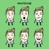 emotionellt Royaltyfria Bilder