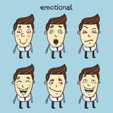 emotionellt Arkivfoton