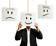 Emotions in business Stock Images