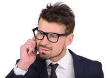 Emotions Business Man Stock Photography