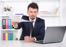 Emotions Business Man Royalty Free Stock Images