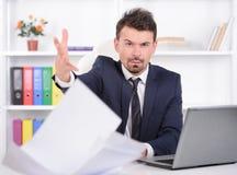Emotions Business Man Stock Photos