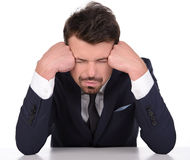 Emotions Business Man Stock Images