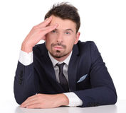 Emotions Business Man Royalty Free Stock Photography