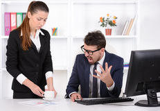 Emotions Business People Stock Image