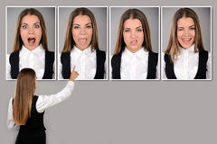 Emotions stock images