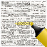 EMOTIONS. Royalty Free Stock Images