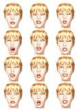 Emotions Royalty Free Stock Photos