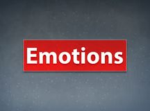 Emotions Red Banner Abstract Background stock illustration