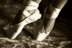 Emotions through movement!. A ballet dancer going through her paces Stock Photo