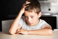Emotions stress at teenager Royalty Free Stock Photo