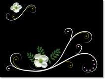 Emotive floral background Royalty Free Stock Photos