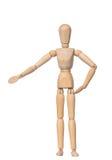 Emozione con la marionetta Immagini Stock Libere da Diritti