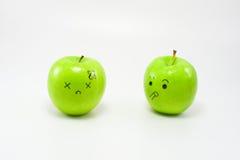 Emozione di Apple Immagine Stock Libera da Diritti