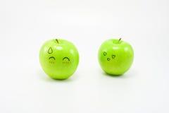 Emozione di Apple Fotografie Stock Libere da Diritti