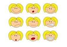 Emozioni Fotografie Stock