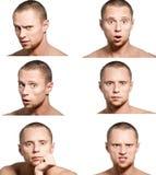 Emozioni Fotografia Stock Libera da Diritti