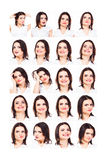 Emozioni Fotografia Stock