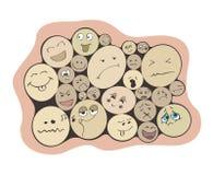 emozioni Immagine Stock Libera da Diritti