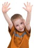 Emozioni del ragazzo Fotografie Stock Libere da Diritti