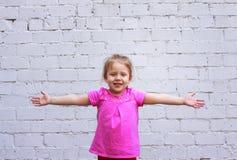 Emozioni del ` s dei bambini riflessione durante vita Fotografie Stock Libere da Diritti