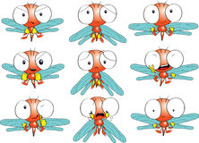 Emozioni della libellula illustrazione di stock