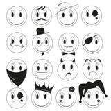 Emozioni divertenti illustrazione vettoriale
