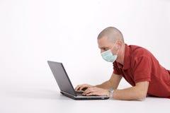 Empêchement de grippe image libre de droits