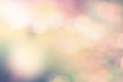 Empañe el fondo colorido de la imagen con efecto de la llamarada de la lente Foto de archivo libre de regalías