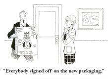 Empacotamento Imagens de Stock Royalty Free