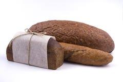 Empacotamento de pão escuro Foto de Stock Royalty Free