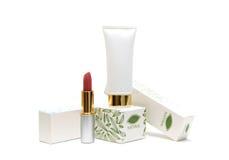 Empacotamento dos cosméticos Imagens de Stock
