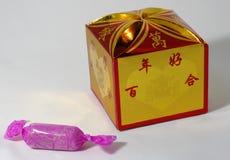 Empacotamento dos doces Fotografia de Stock