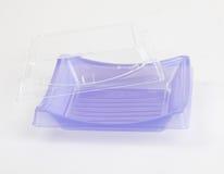 Empacotamento plástico do sushi Imagens de Stock Royalty Free