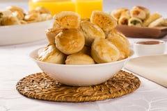 Empada Brazilian snack. pie with chicken Royalty Free Stock Photography