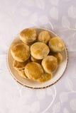 Empada Brazilian snack. pie with chicken Royalty Free Stock Image