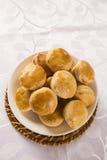 Empada Brazilian snack. pie with chicken Stock Image