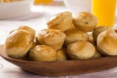 Empada Brazilian snack. pie with chicken Stock Photos