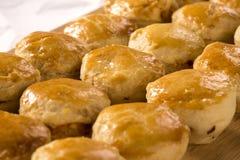 Empada Brazilian snack. pie with chicken Stock Photo