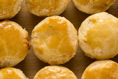 Empada Brazilian snack. pie with chicken Royalty Free Stock Images