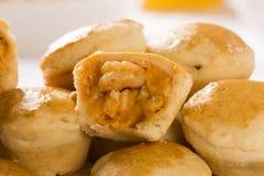 Empada Brazilian snack. pie with shrimp Stock Photography