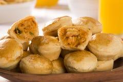 Empada Brazilian snack. pie with shrimp Royalty Free Stock Photo