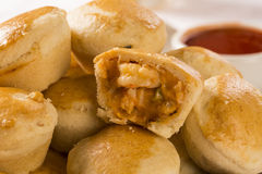 Empada Brazilian snack. pie with shrimp Royalty Free Stock Images