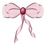 Empalideça - a curva cor-de-rosa ilustração do vetor