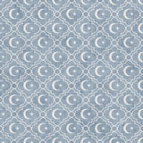 Empalideça - a estrela e Crescent Symbol Tile Pattern Repeat azuis e brancos imagens de stock