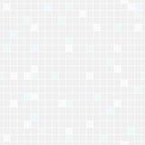 Empalideça - fundo sem emenda azul e do cinza dos quadrados Fotos de Stock Royalty Free