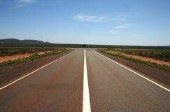 Empalme de Nullarbor del australiano, sur de Australia Foto de archivo