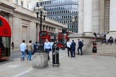 Empalme del banco de Londres Imagen de archivo libre de regalías