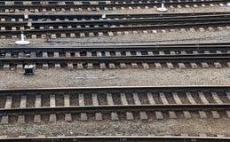 Empalme ferroviario Fotografía de archivo
