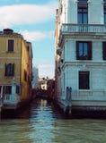 Empalme Venecia del canal Imagenes de archivo